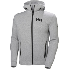 Helly Hansen HP Ocean FZ Hoodie Hombre, grey melange